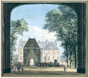 Het Huis Dorth bij Gorssel, in de Graafschap Zutphen