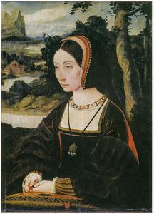 Portret van Josina van Egmond (1464-1538)