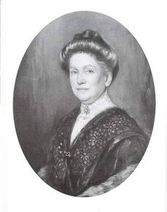 Portret van Hendrika Mees (1848-1928)