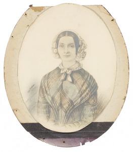 Portret van Geertruida van Delden (1813-1852)