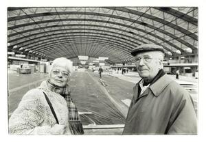Portret van Eva Besnyö en Alexander Bodon