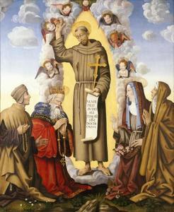 De heilige Franciscus