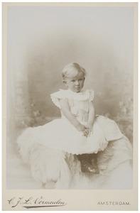 Portret van Christina Elisabeth Wüstenhoff (1896-...)