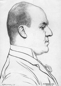 Portret van Lodewijk van Deyssel