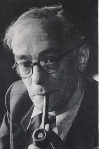 Portret van Koos van der Horst jr.