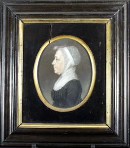 Portret van Catharina Strickling (....-....)