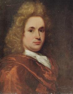 Portret van een man, genaamd Willem Schellinks