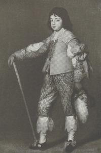 Portret van Karel II van Engelend (1630-1685) als prins van Wales