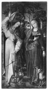 De aartsengel Michaël en H. Agnes
