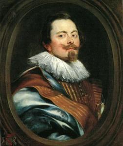 Portret van Frederick de Marselaer (1584-1670)