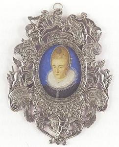 Portret van een prinses van Brunswijk-Wolfenbüttel