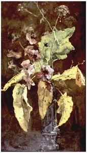 Bloemstilleven met anemonen
