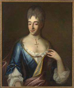 Portret van een vrouw genaamd Isabella Magdalena Beckx (....-....)