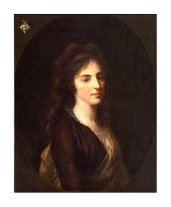Portret van Constantia Lampsins (1780-1807)