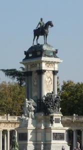 Ruiterstandbeeld van Alfonso XII