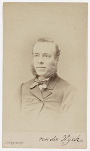 Portret van Hendrik van der Wyck (1844-1902)