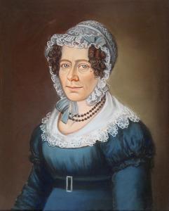 Portret van Alida Klazina van der Linden van Spranckhuyzen (1793-1855)