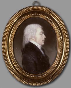 Portret van Arnoldus Abraham de Vries Robbe (1770-1841)