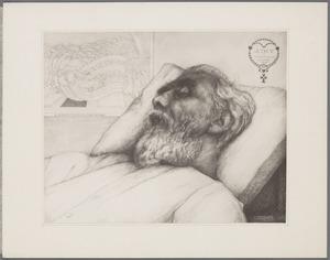 Jan Toorop op zijn doodsbed