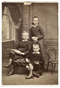 Portret van de kinderen Julius