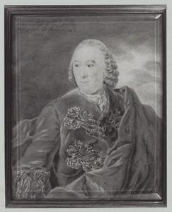 Portret van Anthony Terwen (1698-1776)