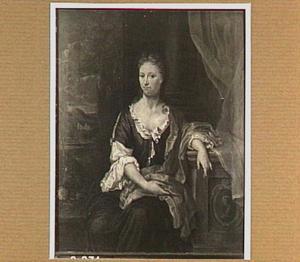 Portret van Johanna Staal (  -1736)