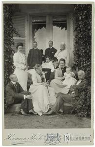 Portret van de familie Van Wied