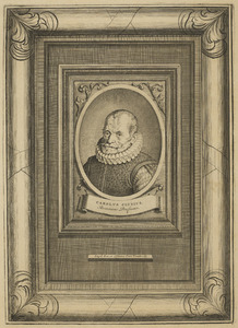 Portret van Carolus Clusius (1526-1609)