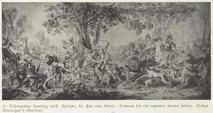 De jacht van Telemachus en Antiope