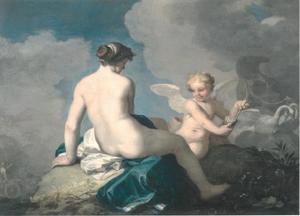 Venus en Cupido op de berg Eryx