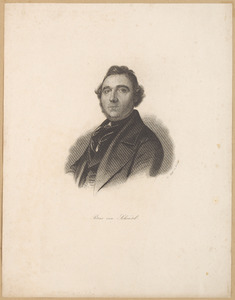 Portret van Petrus van Schendel (1806-1870)