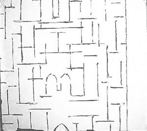 Fragment church façade