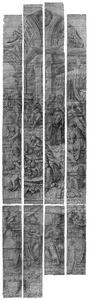 De geboorte van Johannes de Doper (Lucas 1:57-65), met stichtersportret