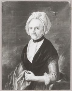 Portret van een vrouw, mogelijk Johanna Moralla Maria van Cattenburch (1732-1794)