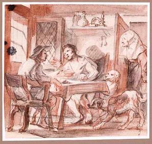 Esau verkoopt zijn geboorterecht aan Jacob voor een bord linzen (Genesis 25:29-34)