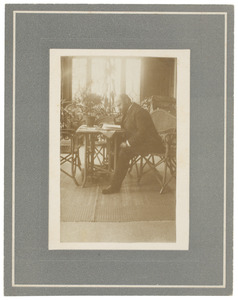 Portret van Maurits Cornelis van Hall (1866-1915)