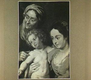 Maria met kind en Anna