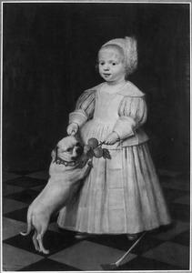 Portret van Jan van der Aa op 2-jarige leeftijd