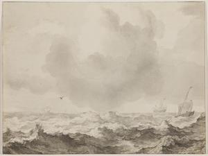 Storm op de Zuiderzee