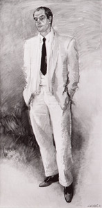 Portret van Gustaaf Hein Andrea (1942- )