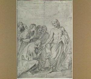 Christus overhandigt de sleutels aan Petrus