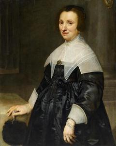 Portret van Lucretia van der Meulen (1591-1672)