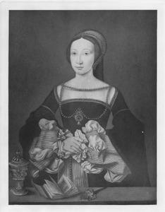 Portret van een vrouw (als Maria Magdalena?)