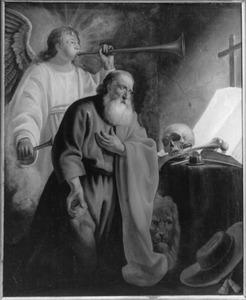 De H. Hieronymus, een der Latijnse kerkvaders