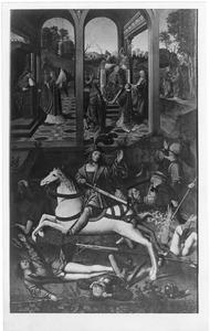 Episoden uit het leven van de H. Hubertus van Lüttich