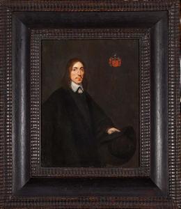 Portret van Willem Everwijn (1613-1673)