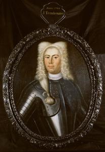 Portret van een man genaamd J. Tesschemaker