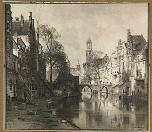 Oudegracht te Utrecht