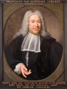 Portret van Franciscus van Oudendorp (1696-1761)