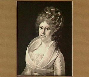 Portret van Johanna Catharina van Naerssen (1766-1838), echtgenote van Pieter Johan Rethaan Macaré (1762-1828)